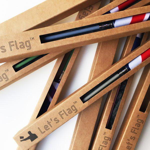 """Let's Flag"" Packaging"