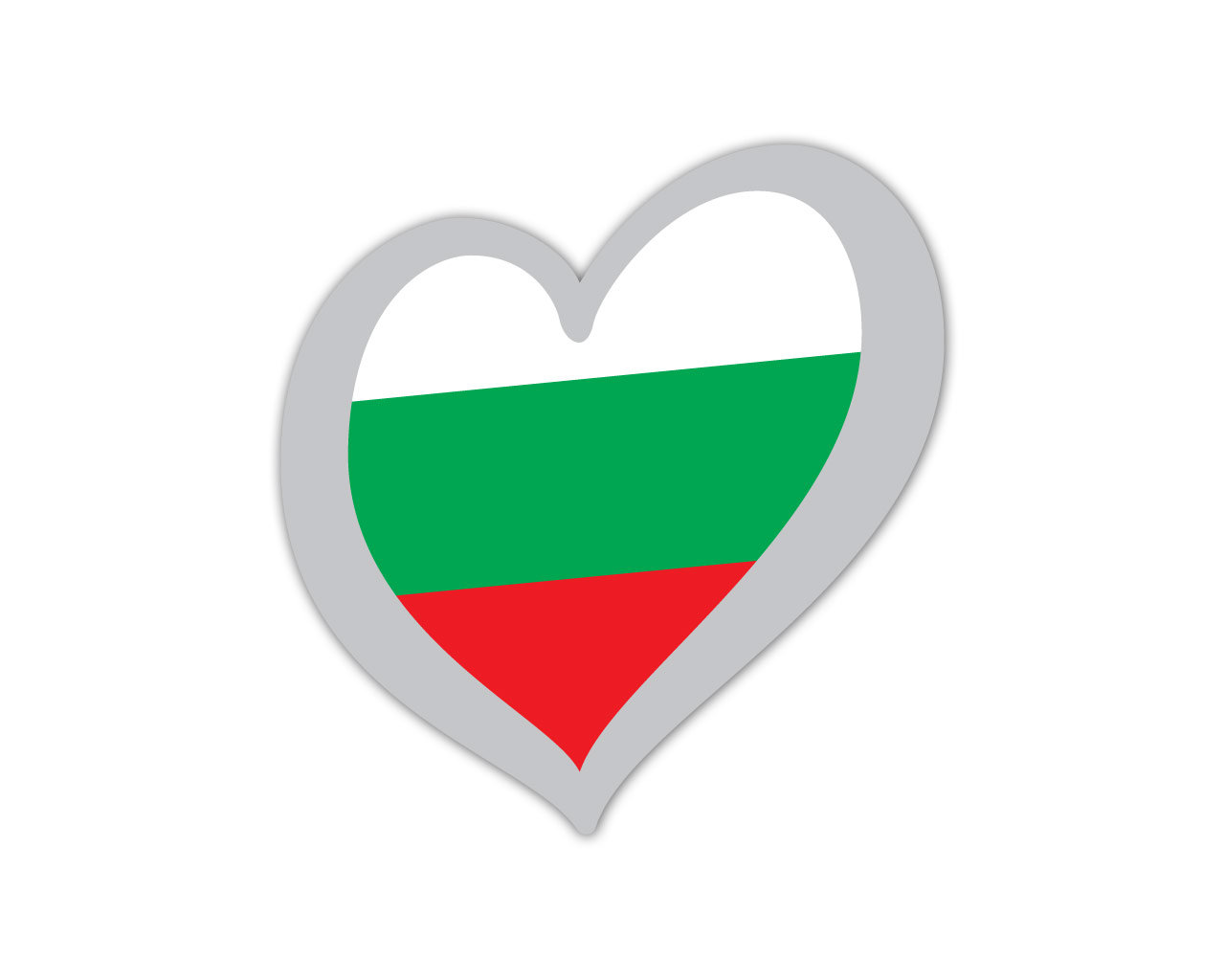 Heart Pin Bulgaria
