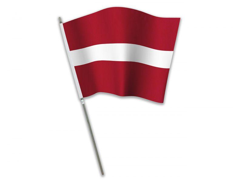 """Let's Flag"" Latvia"