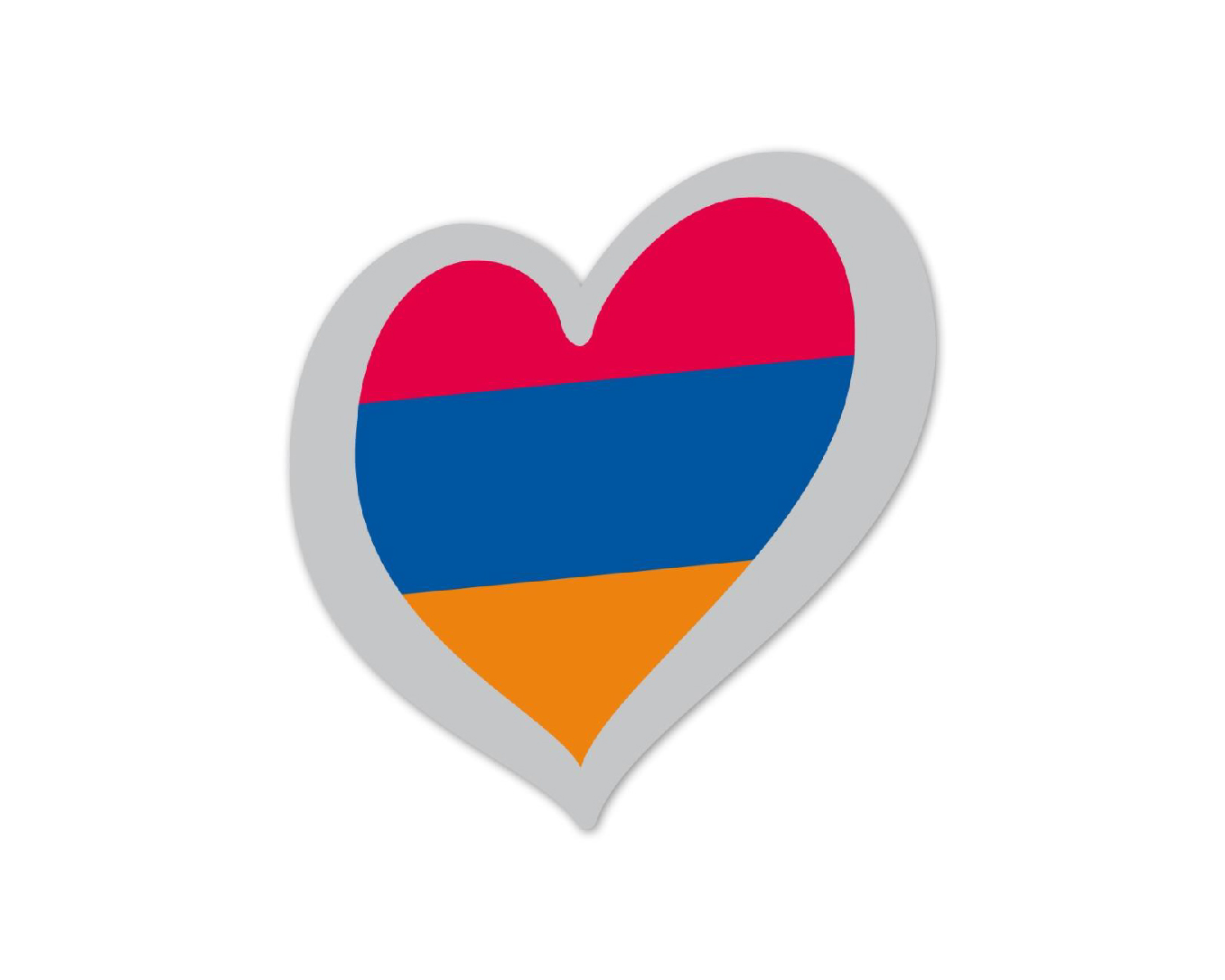 Heart Pin Armenia