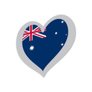 Heart Pin Australia