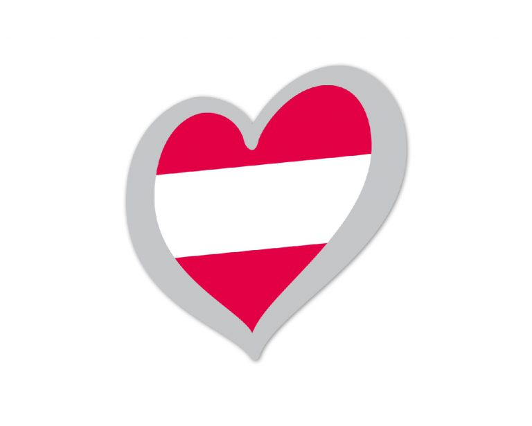 Heart Pin Austria