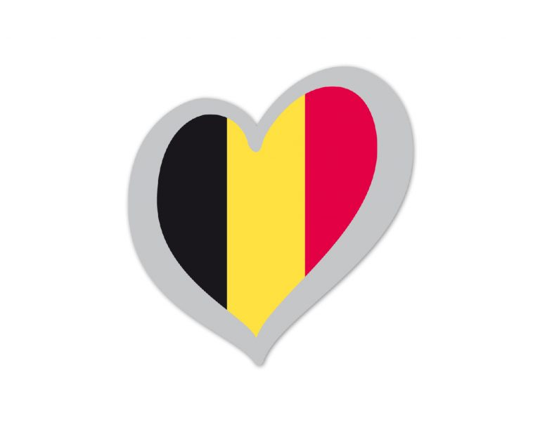 Heart Pin Belgium