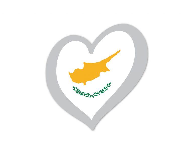 Heart Pin Cyprus