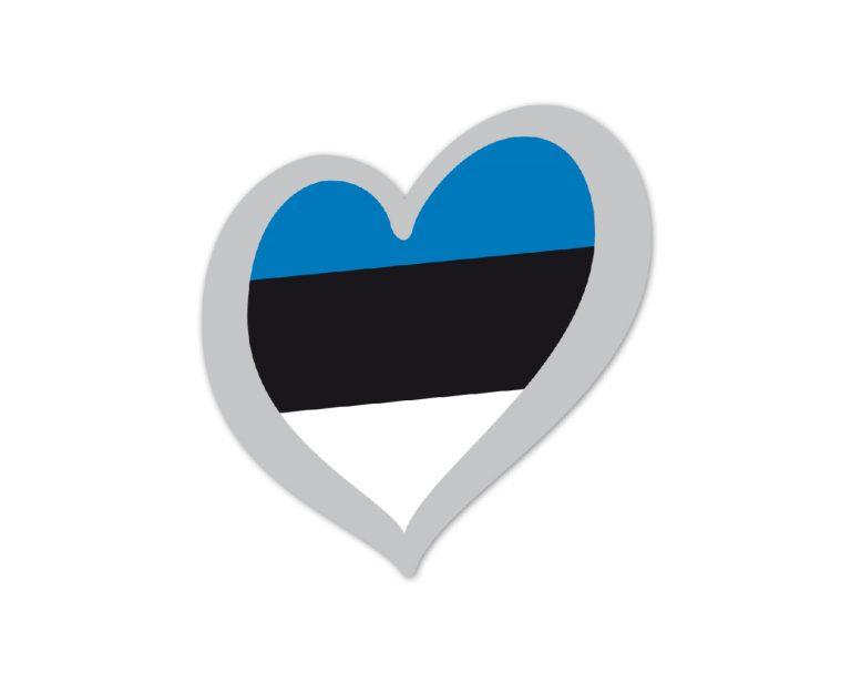 Heart Pin Estonia