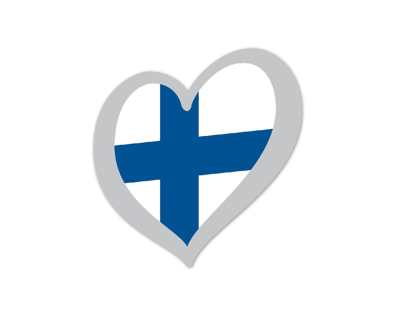 Heart Pin Finland