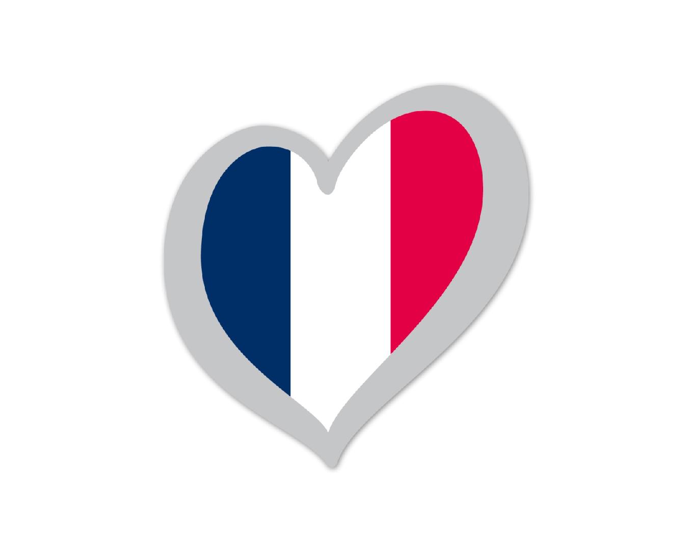 Heart Pin France