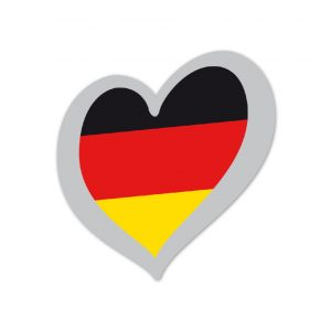 Heart Pin Germany