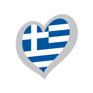 Heart Pin Greece