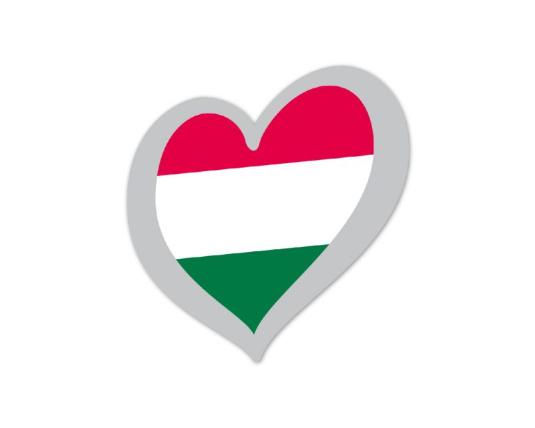 Heart Pin Hungary