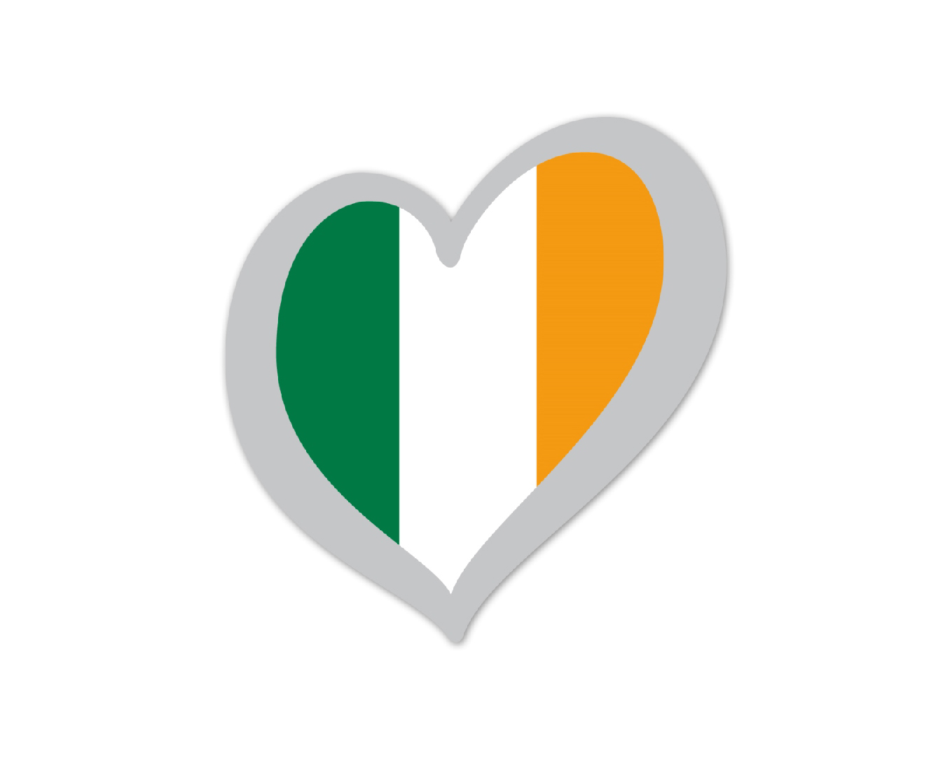 Heart Pin Ireland