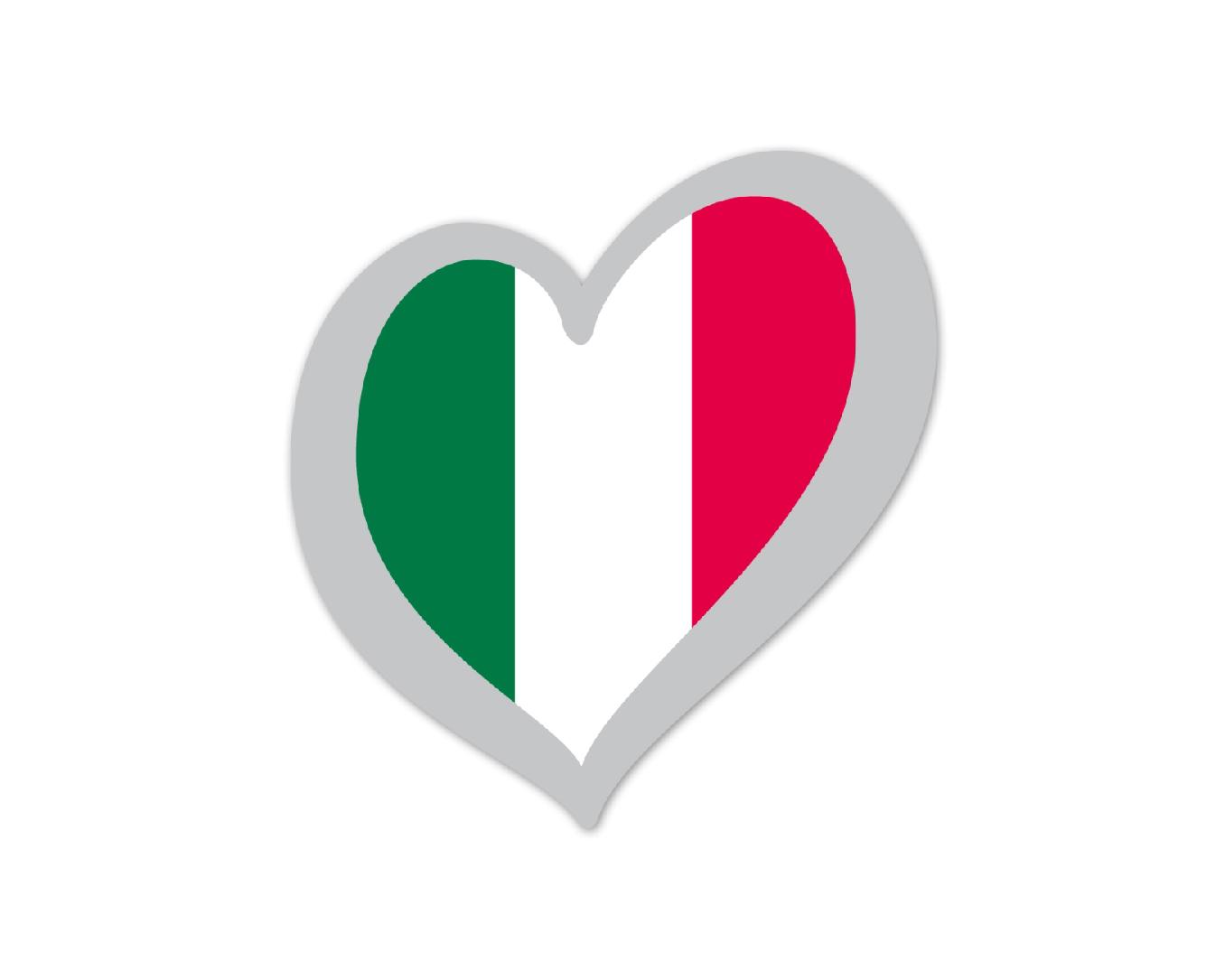 Heart Pin Italy