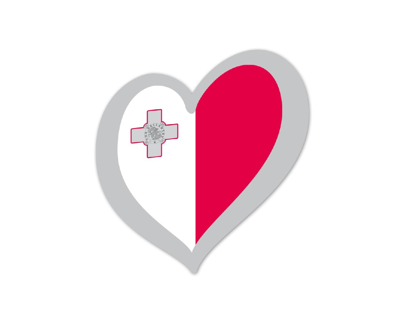 Heart Pin Malta