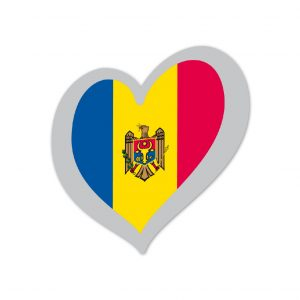 Heart Pin Moldova