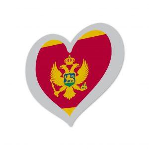 Heart Pin Montenegro