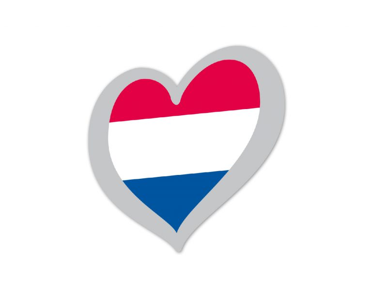 Heart Pin The Netherlands