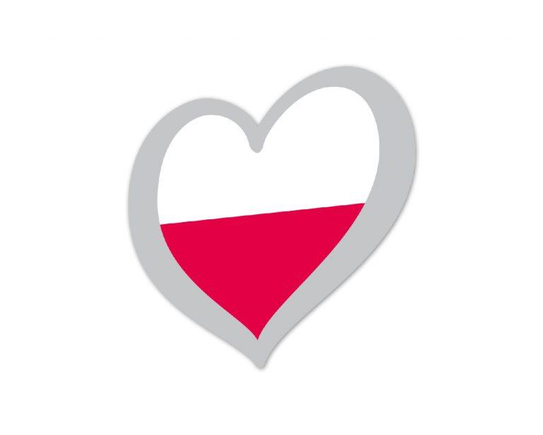Heart Pin Poland