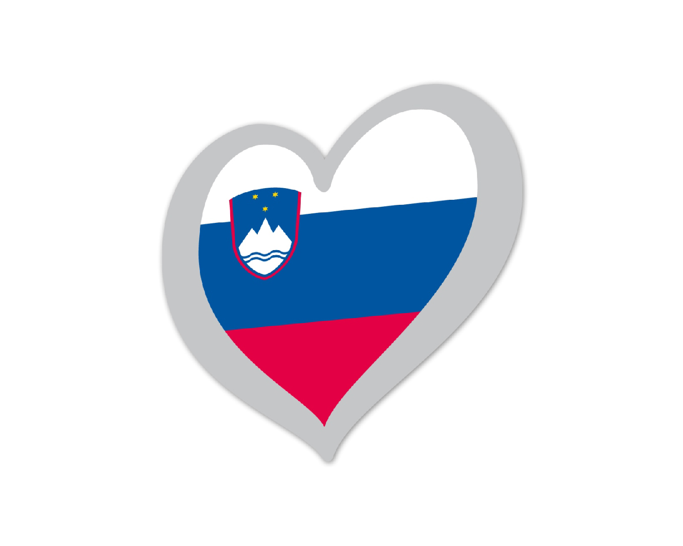 Heart Pin Slovenia