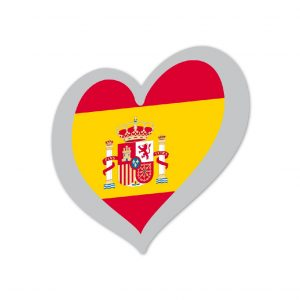 Heart Pin Spain