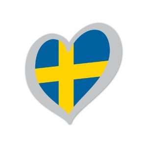 Heart Pin Sweden