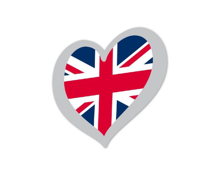 Heart Pin United Kingdom