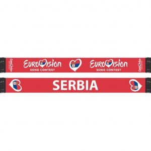 Heart Pin Serbia