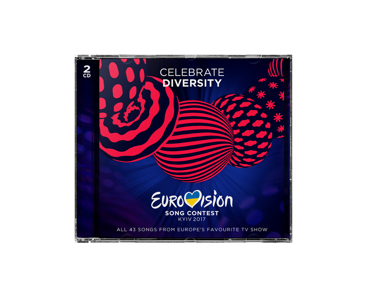 THE OFFICIAL EUROVISION SONG CONTEST CD 2017