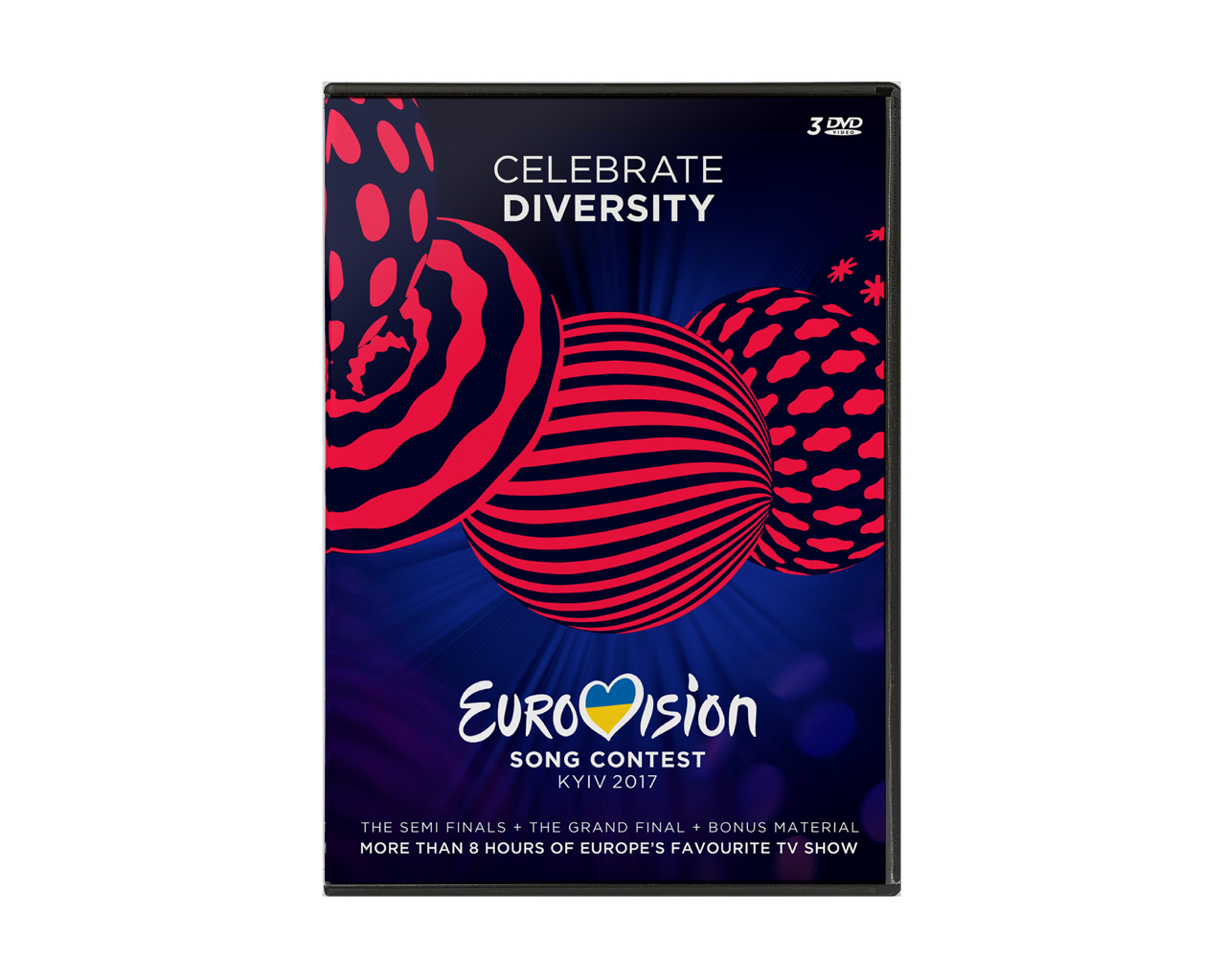 OFFICIAL EUROVISION SONG CONTEST DVD 2017