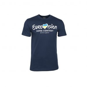 T-Shirt Men ESC 2017 Kyiv