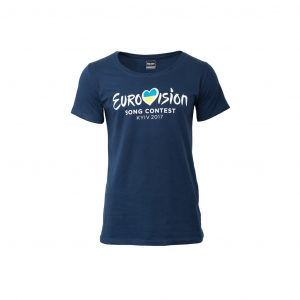 T-Shirt Women ESC 2017 Kyiv