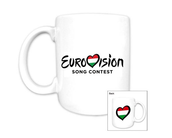 Eurovision Song Contest_Country Mug_Hungary