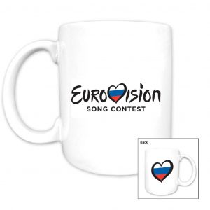 Eurovision Song Contest_Country Mug_Russia